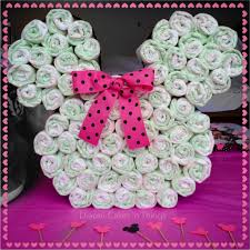 minnie mouse diaper cake minnie mouse head minnie mouse bow