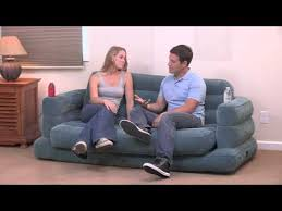 Intex Pull Out Sofa by Intex 68566 Pull Out Sofa Youtube Mudança Pinterest
