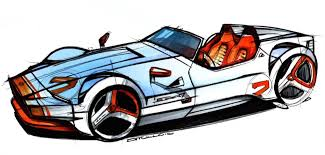 cartoon sports car png how many sketches should you do in a year 250 core77