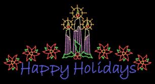 18 x 35 festive greeting displays