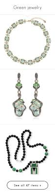 clip on earrings accessorize green jewelry by kikikoji liked on polyvore featuring jewelry