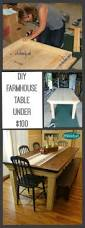How To Build A Dining Room Table Plans by Art Is Beauty How To Build Your Own Farmhouse Table For Under