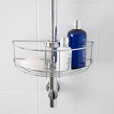 croydex universal shower riser rail basket chrome robert dyas more views croydex universal shower