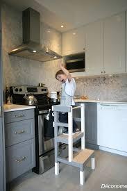diy cuisine enfant fabriquer un tabouret de cuisine pour enfant déconome