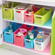 Storage Containers For Bathrooms by Colorful Thicker Storage Container Plastic Kitchen Bathroom