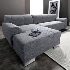 tissu pour recouvrir un canapé tissu pour canape d angle canapac dangle modulable gris clair 5