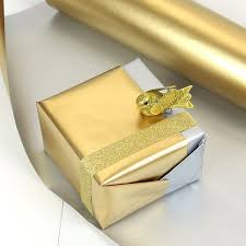 sided christmas wrapping paper gold silver sided wrapping paper pipii