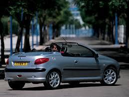 peugeot 206 cc specs 2001 2002 2003 2004 2005 2006 2007