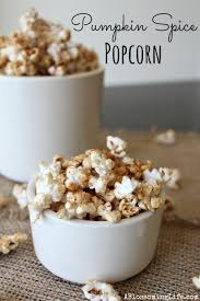 popcorn for halloween pumpkin spice popcorn recipe