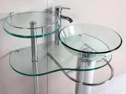 glass contemporary pedestal sink classic contemporary pedestal