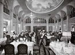 titanic first class dining room s s majestic first class dining saloon white star line