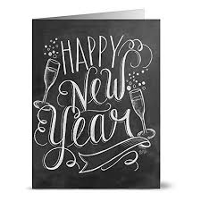 happy new year note cards new year cards