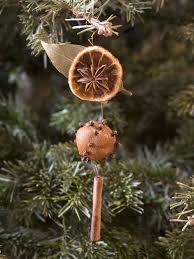 dried orange decorations hgtv