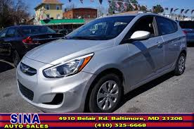 hyundai accent 5 door 2016 hyundai accent 5 door se 5 door 6m for sale in baltimore md