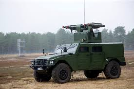 indian army jeep multi purpose combat vehicle mpcv armed with mistral short