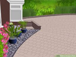 Mortar Mix For Patio How To Create A Patio With Pictures Wikihow
