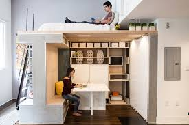 Loft Bed Designs Shining Loft Bed For Studio Apartment 25 Ideas Small Rooms