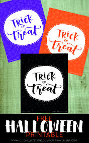 Free Printable Halloween Trivia Trick Or Treat Printables Lil U0027 Luna