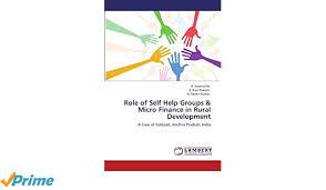 self help finance of self help groups micro finance in rural development a