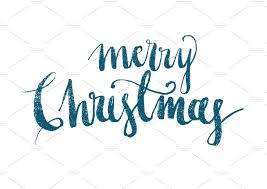 merry christmas modern christmas modern calligraphy illustrations creative market