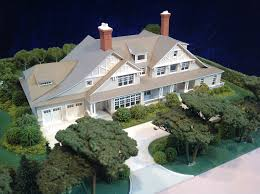 architectural house models of houses in the hamptons long