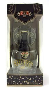 baileys gift set buy whisky liqueurs baileys miniature glass coaster