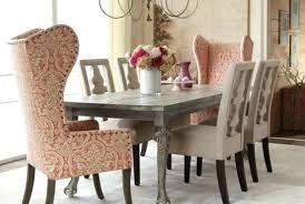 Fabric Chairs For Dining Room Dining Room Table With Fabric Chairs Jcemeralds Co