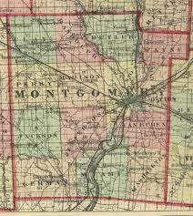 Ohio County Map by 1875 Map Of Montgomery County Ohio