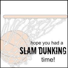 basketball cookies and free printable tags
