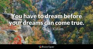dream quotes brainyquote