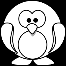 penguin coloring pages bestofcoloring com