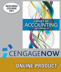 amazon com cengagenow for warren u0027s survey of accounting 7th