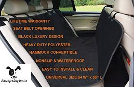 top rated hammock dog seat cover for cars suvs and trucks waterpro