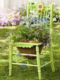 Cool Garden Ornaments 22 Cool Chair Planter Ideas For Home And Garden Balcony Garden Web