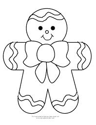 templates templates pinterest gingerbread gingerbread man