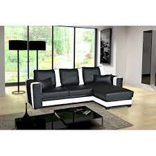 canape angle noir et blanc canapé d angle convertible pablo noir et blanc moderne et tendance