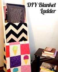 diy blanket diy blanket ladder