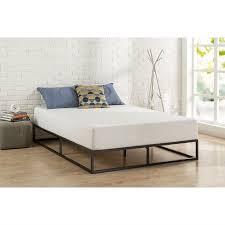 Metal Platform Bed Frame Size 10 Inch Low Profile Modern Metal Platform Bed Frame With