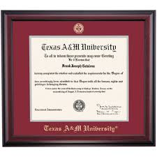 a m diploma frame am school color traditional diploma frame a m