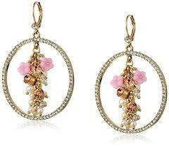antoinette earrings betsey johnson antoinette mixed multi charm