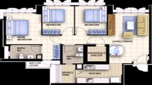 floor plan of 4 room hdb flat youtube