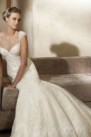wholesale wedding dresses cap sleeves mermaid lace ivory wedding dresses wholesale buy cheap