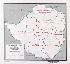 Map Of Southern Africa by Large Detailed Administrative Divisions Map Of Southern Rhodesia