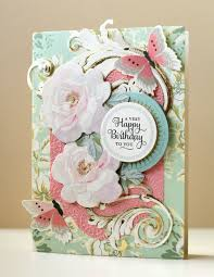 the paper boutique griffin garden window card kit review