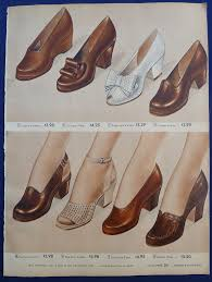 I Love Comfort Shoes At Sears Womens Flats Casual Shoes Loafers Clothing Vintage 1940s Sears