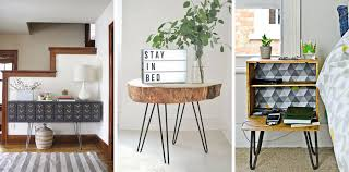 Diy Desk Legs Hairpin Legs Awesome Diy Furniture Ideas Pillar Box Blue