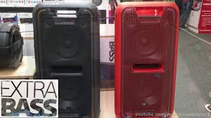 sony high powered bluetooth light up speaker gtk xb5 sony gtk xb7 sound test max volume youtube