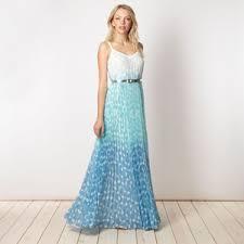 ombre maxi dress designer blue ombre maxi dress jonathan saunders polyvore
