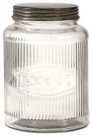 dyer glass cookie jar with lid contemporary kitchen canisters