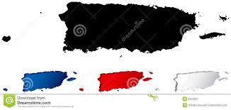 Puerto Rico Blank Map by Map Of Puerto Rico Royalty Free Stock Photography Image 6515087